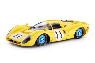Slot.it Policar 1/32 Ferrari 412P #11 1000 km Spa 1967 Slot Car PCAR06B
