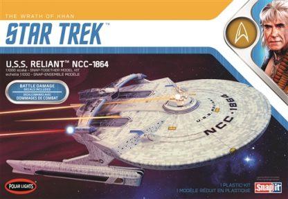Polar Lights Star Trek U.S.S. Reliant Wrath of Khan 1/1000