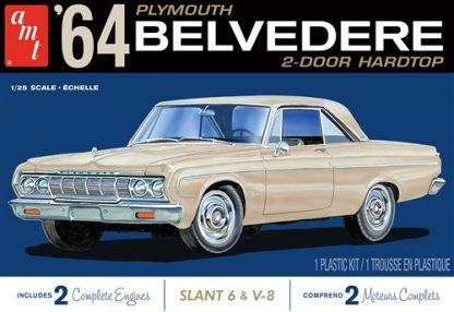 AMT 1964 Plymouth Belvedere (w/Slant 6 Engine) 1:25 AMT1188