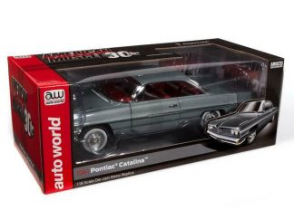 Auto World AMERICAN MUSCLE 1961 PONTIAC CATALINA HARDTOP 1:18 AMM1254